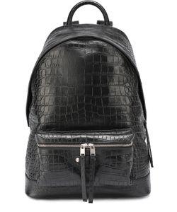 Balenciaga | Кожаный Рюкзак С Тиснением Под Крокодила