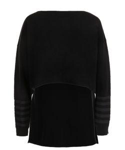Sonia Rykiel | Кашемировый Пуловер С Удлиненный Спинкой