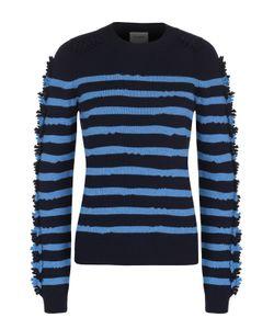 BARRIE | Кашемировый Пуловер В Полоску С Бахромой