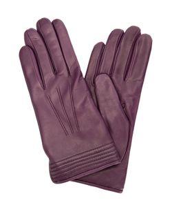 Sermoneta Gloves | Кожаные Перчатки С Подкладкой Из Кашемира