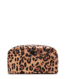 Dolce & Gabbana | Текстильный Несессер С Леопардовым Принтом