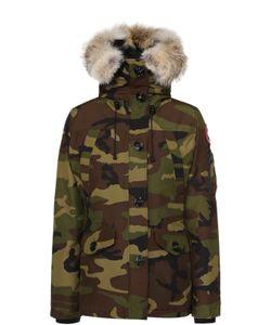 Canada Goose | Утепленная Куртка С Капюшоном И Меховой Отделкой