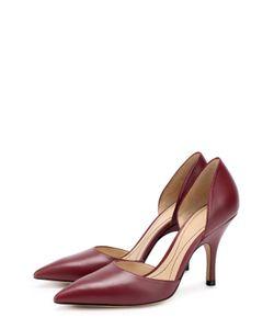 Giorgio Armani | Кожаные Туфли Dorsay На Шпильке