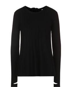 Helmut Lang | Пуловер Свободного Кроя С Открытой Спиной