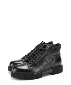 O.X.S. | Кожаные Ботинки На Шнуровке .