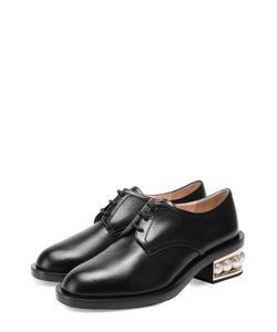 Nicholas Kirkwood | Кожаные Ботинки На Каблуке С Жемчужинами