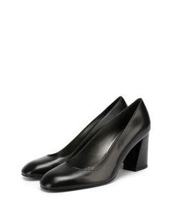 Stuart Weitzman | Кожаные Туфли Mary На Устойчивом Каблуке