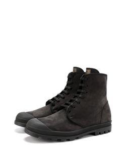 Jil Sander | Кожаные Ботинки На Шнуровке