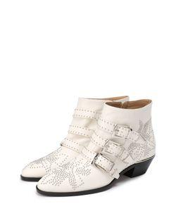 Chloe | Кожаные Ботинки Susanna С Заклепками Chloé