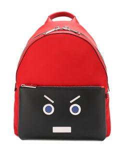 Fendi | Комбинированный Рюкзак С Аппликацией