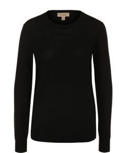 Burberry | Пуловер С Круглым Вырезом И Принтом
