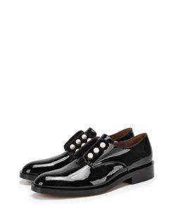 Givenchy | Лаковые Ботинки С Жемчужинами