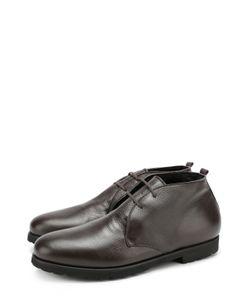Rocco P.   Кожаные Ботинки На Шнуровке С Внутренней Меховой Отделкой Rocco P.