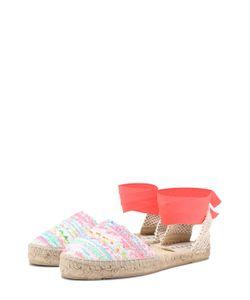 Manebi | Текстильные Эспадрильи С Лентами На Щиколотке