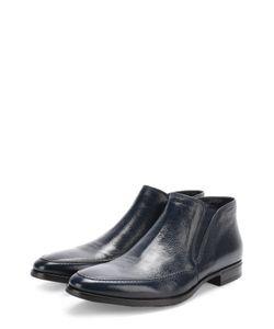 Aldo Brue | Кожаные Ботинки Без Шнуровки С Текстильными Вставками