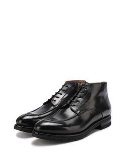 W.Gibbs | Кожаные Ботинки На Шнуровке С Молнией