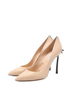 Casadei | Кожаные Туфли С Бантом На Шпильке Blade