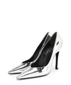 Balenciaga | Туфли Из Металлизированной Кожи На Шпильке