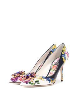 Dolce & Gabbana | Кожаные Туфли Bellucci С Брошью