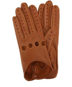 Agnelle | Кожаные Перчатки С Прострочкой