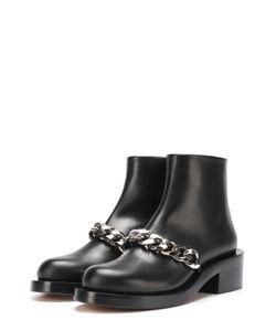 Givenchy | Кожаные Ботинки С Массивной Цепью