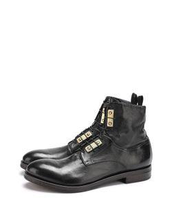 Raparo | Высокие Кожаные Ботинки На Шнуровке