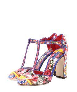 Dolce & Gabbana | Лаковые Туфли Vally С Принтом