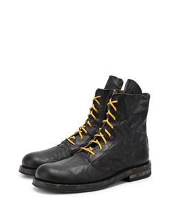 Ann Demeulemeester | Кожаные Ботинки С Потертостями