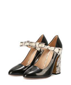 Gucci | Кожаные Туфли Nimue С Бантом На Ремешке