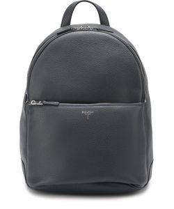 Serapian | Кожаный Рюкзак С Внешним Карманом На Молнии