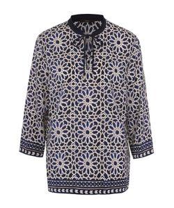 Windsor | Блуза С Укороченным Рукавом И Контрастным Принтом