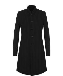 Masnada | Однобортное Пальто Из Смеси Шерсти И Льна