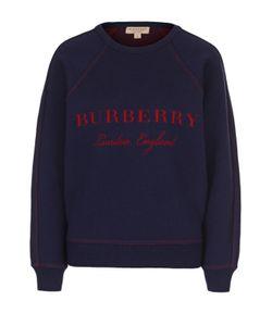 Burberry | Свитшот Свободного Кроя С Контрастным Логотипом Бренда