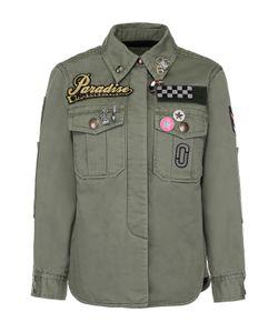 Marc Jacobs | Джинсовая Куртка С Контрастной Отделкой И Накладными Карманами