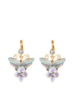 Dolce & Gabbana | Серьги-Клипсы С Декором И Кристаллами Swarovski