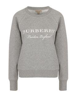 Burberry | Свитшот С Вышитым Логотипом Бренда