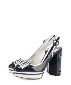 Dolce & Gabbana | Лаковые Туфли Vally С Аппликациями