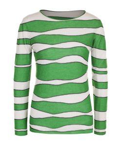 Giorgio Armani | Кашемировый Пуловер С Круглым Вырезом И Принтом