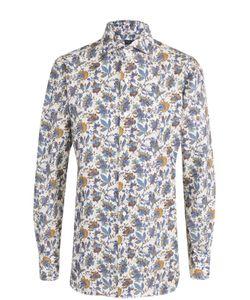 Finamore 1925 | Хлопковая Рубашка С Принтом