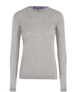 Ralph Lauren | Приталенный Кашемировый Пуловер С Круглым Вырезом