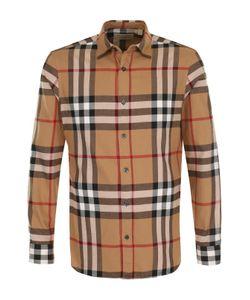 Burberry   Хлопковая Рубашка В Клетку