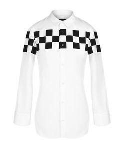 Dsquared2 | Блуза С Укороченным Рукавом И Контрастной Отделкой