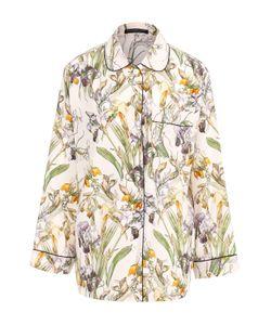 Alexander McQueen | Шелковая Блуза С Пижамном Стиле С Принтом