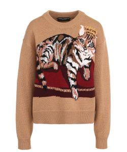 Dolce & Gabbana | Кашемировый Пуловер С Принтом