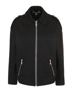 Kenzo | Куртка С Отложным Воротником И Вышивкой На Спинке