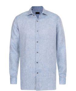 Pal Zileri | Льняная Рубашка С Воротником Акула