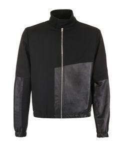 Mcq Alexander Mcqueen | Шерстяная Куртка С Отделкой Из Кожи