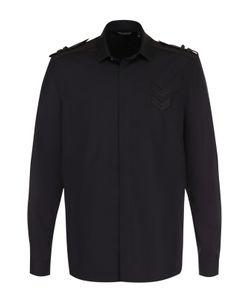 Neil Barrett | Хлопковая Рубашка С Погонами