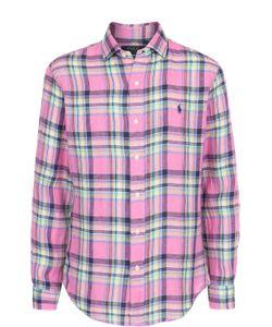 Polo Ralph Lauren   Льняная Рубашка В Клетку