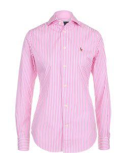 Polo Ralph Lauren | Приталенная Хлопковая Блуза В Полоску